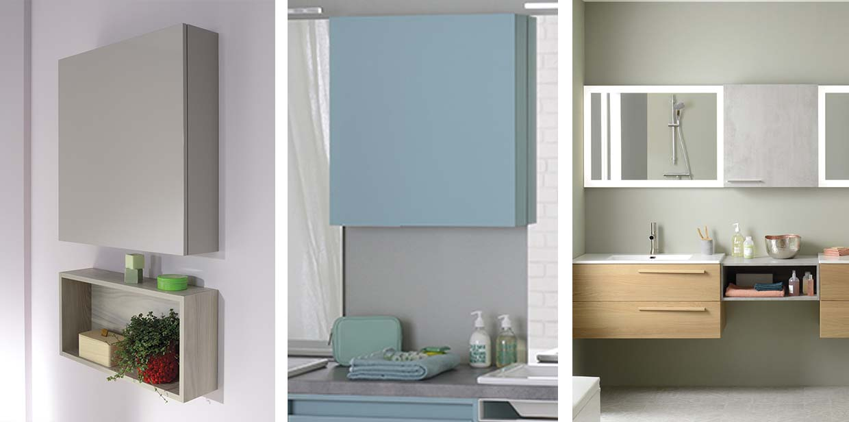 Gamme wally de meuble salle de bain miroir sanijura for Miroir sur mesure luxembourg