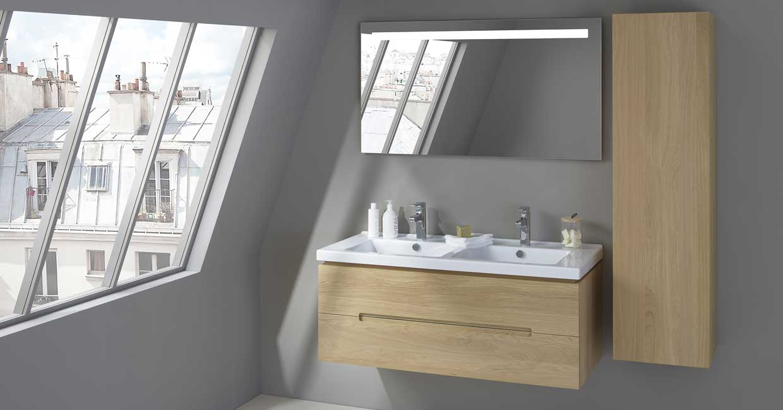 Meuble de salle de bain Essentiel - Sanijura