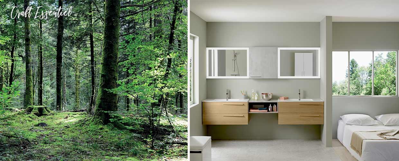 meuble de salle de bain Halo - Sanijura