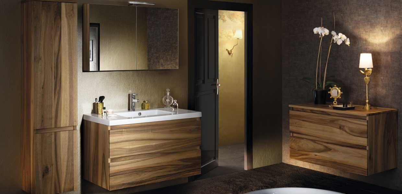 Salle de bain lignum noyer - Sanijura